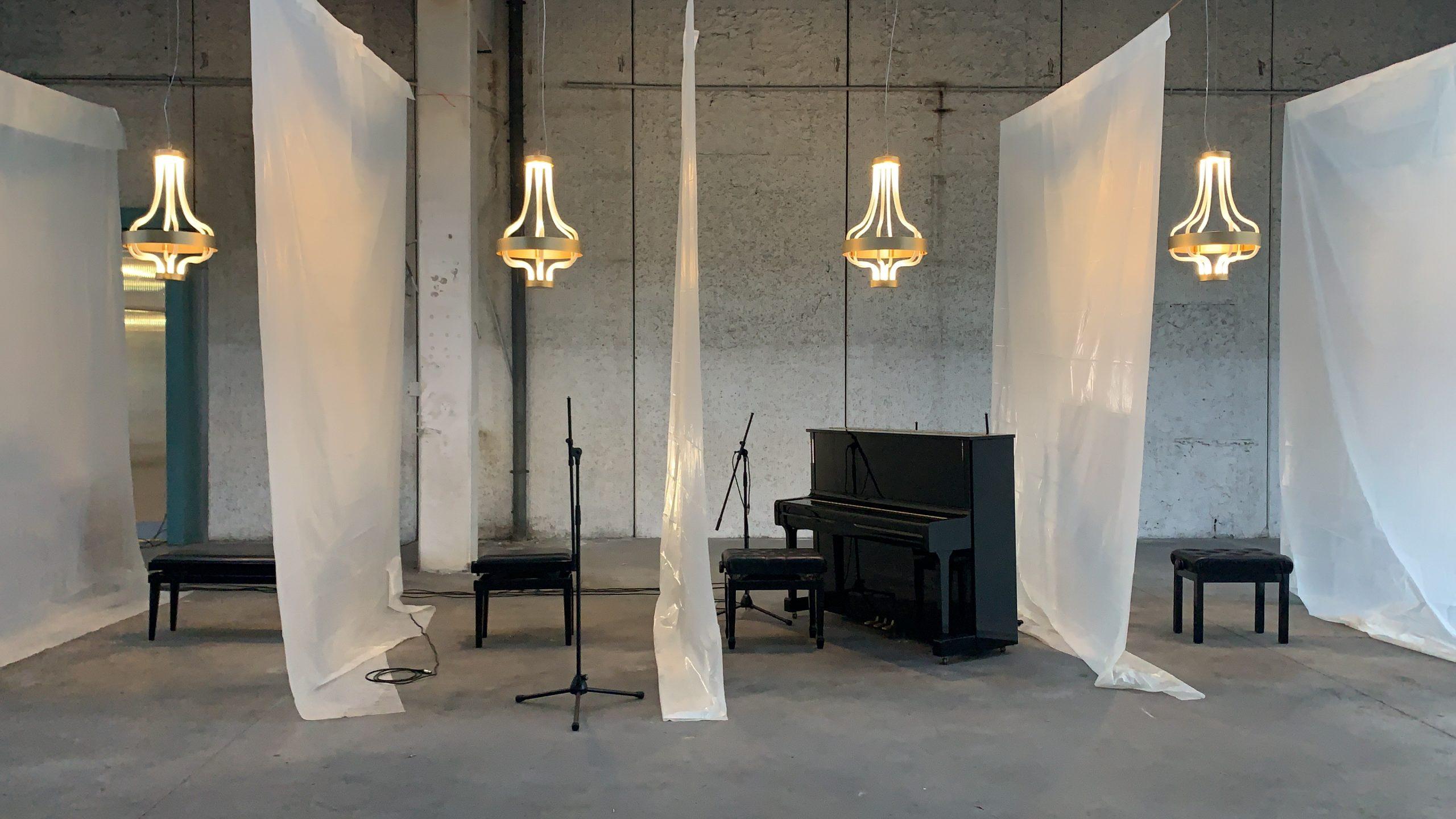 """""""Luce che si sente"""" il concerto-installazione in cui Marco Guazzone performa per Sylcom"""