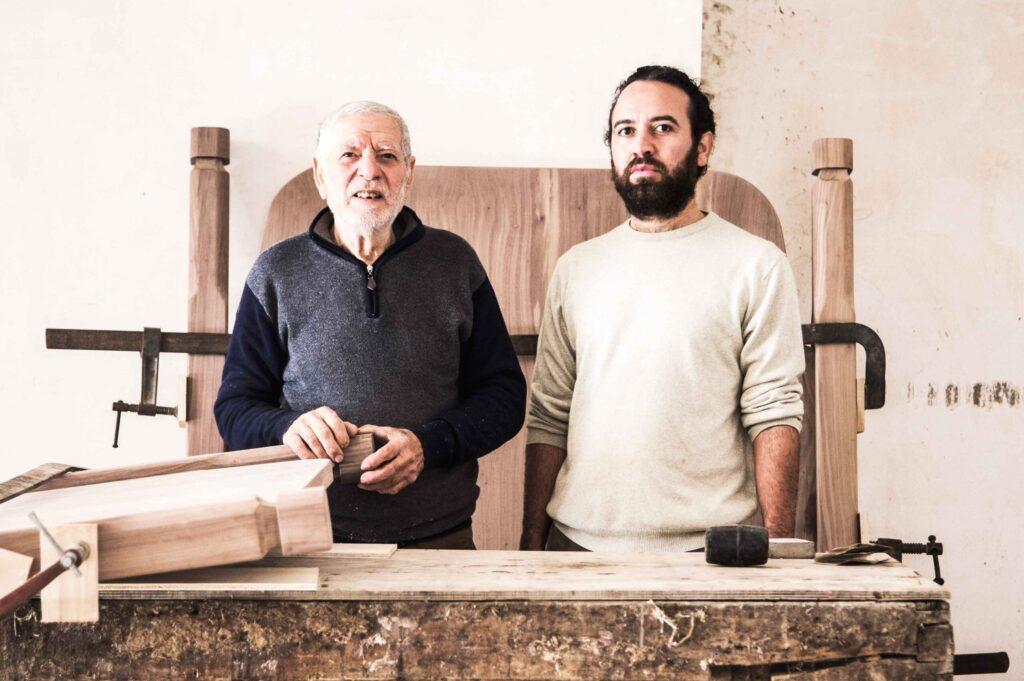 Nonno Saverio e Antonio Aricò, foto di F.Zaminga